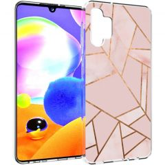 iMoshion Cover Design Samsung Galaxy A32 (5G) - Pink Graphic