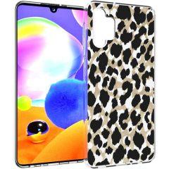 iMoshion Cover Design Samsung Galaxy A32 (5G) - Golden Leopard