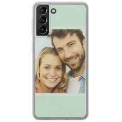 Cover Flessibile Personalizzate Samsung Galaxy S21 Plus - Trasparente