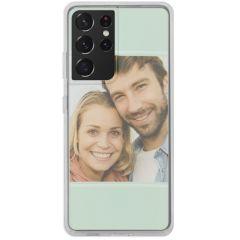 Cover Flessibile Personalizzate Samsung Galaxy S21 Ultra - Trasparente