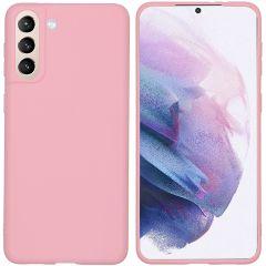 iMoshion Cover Color Samsung Galaxy S21 Plus - Rosa
