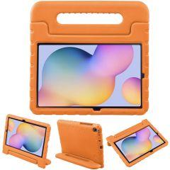iMoshion Cover Antishoc Speciale Bambini con Manico Samsung Galaxy Tab S6 Lite - Arancio