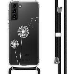 iMoshion Cover Design con Cordino Samsung Galaxy S21 Plus - Dandelion