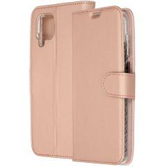Accezz Custodia Portafoglio Flessibile Samsung Galaxy A12 - Rosa oro