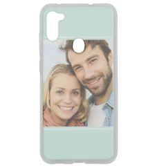 Cover Flessibile Personalizzate Samsung Galaxy M11 / A11 - Trasparente