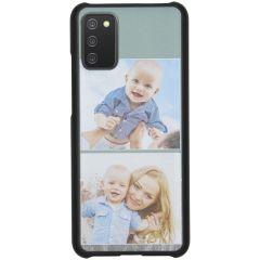 Cover Rigida Personalizzate Samsung Galaxy A02s - Nero
