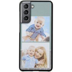 Cover Rigida Personalizzate Samsung Galaxy S21 Plus - Nero