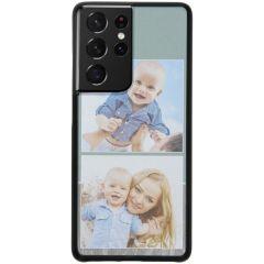 Cover Rigida Personalizzate Samsung Galaxy S21 Ultra - Nero