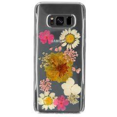 My Jewellery Cover Rigida Design Samsung Galaxy S8 - Dried Flower