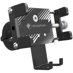 iMoshion Supporto per cellulare universale in alluminio per bici - Nero