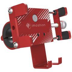 iMoshion Supporto per cellulare universale in alluminio per bici - Rosso