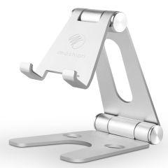 iMoshion Supporto da scrivania in alluminio per smartphone / tablet - Argento