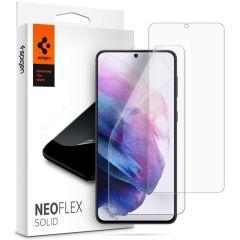 Spigen Neo Flex Solid Pellicola Protettiva 2 Pezzi Samsung Galaxy S21