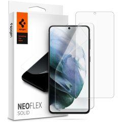 Spigen Neo Flex Solid Pellicola Protettiva 2 Pezzi Samsung Galaxy S21 Plus