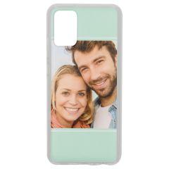 Cover Flessibile Personalizzate Samsung Galaxy A02s - Trasparente