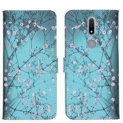 iMoshion Design Custodia a Libro Morbida Nokia 2.4 - Blossom