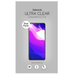 Selencia Pellicola Protettiva Ultra Trasparente Duo Pack Xiaomi Mi 10 Lite