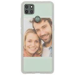 Cover Flessibile Personalizzate Motorola Moto G9 Power - Trasparente
