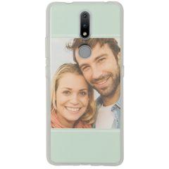 Cover Flessibile Personalizzate Nokia 2.4 - Trasparente