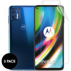 iMoshion Pellicola Protettiva Trasparente 3 Pezzi Motorola Moto G9 Plus