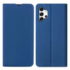 iMoshion Custodia a Libro Slim Samsung Galaxy A32 (5G) - Blu scuro