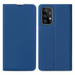 iMoshion Custodia a Libro Slim Samsung Galaxy A72 - Blu scuro