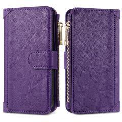 iMoshion Portafoglio de Luxe Samsung Galaxy A12 - Viola