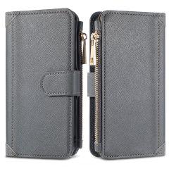 iMoshion Portafoglio de Luxe Samsung Galaxy A12 - Grigio