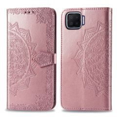 iMoshion Custodia Portafoglio Mandala Oppo A73 (5G) - Rosa oro