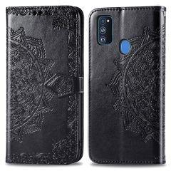 iMoshion Custodia Portafoglio Mandala Samsung Galaxy M30s / M21 - Nero