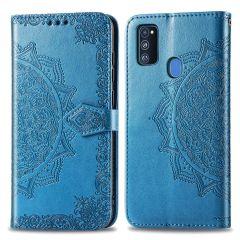 iMoshion Custodia Portafoglio Mandala Samsung Galaxy M30s / M21 - Turchese