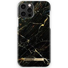 iDeal of Sweden Fashion Cover iPhone 12 (Pro ) - Port Laurent Marble