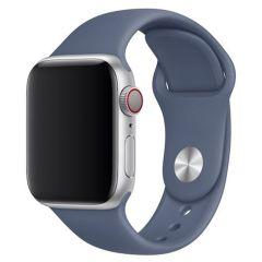 Apple Sport Band Apple Watch Series 1 t/m 6 / SE - 38/40mm - Alaskan Blue