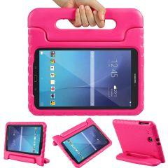 Cover Antishoc Speciale Bambini con Manico Samsung Galaxy Tab E 9.6 - Rosa