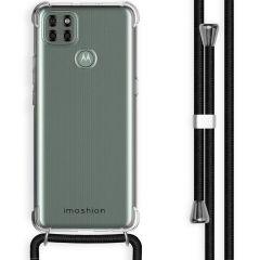 iMoshion Cover con Cordino Motorola Moto G9 Power - Trasparente