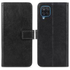 iMoshion Custodia Portafoglio de Luxe Samsung Galaxy A12 - Nero