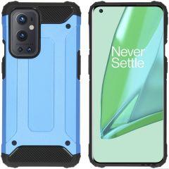iMoshion Cover Robusta Xtreme OnePlus 9 Pro - Azzurro
