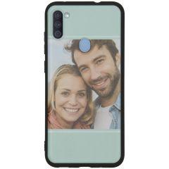 Cover Flessibile Personalizzate Samsung Galaxy M11 / A11 - Nero