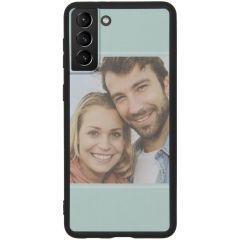 Cover Flessibile Personalizzate Samsung Galaxy S21 Plus - Nero