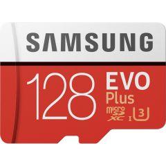 Samsung Scheda di memoria microSDXC 128GB EVO Plus classe 10 + adattatore