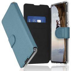 Accezz Xtreme Custodia Portafoglio Samsung Galaxy A70 - Azzurro