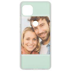 Cover Flessibile Personalizzate Motorola Moto G 5G - Trasparente