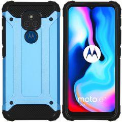 iMoshion Cover Robusta Xtreme Motorola Moto E7 Plus / G9 Play - Azzurro