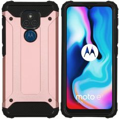 iMoshion Cover Robusta Xtreme Motorola Moto E7 Plus / G9 Play - Rosa oro