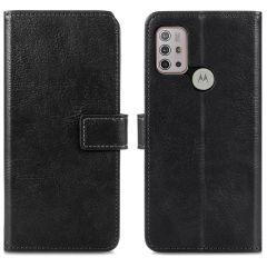 iMoshion Custodia Portafoglio de Luxe Motorola Moto G30 / G20 / G10 (Power) - Nero