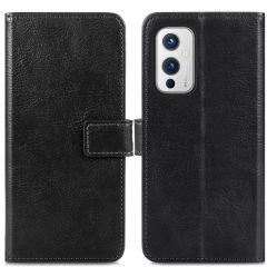 iMoshion Custodia Portafoglio de Luxe OnePlus 9 - Nero