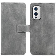iMoshion Custodia Portafoglio de Luxe OnePlus 9 - Grigio