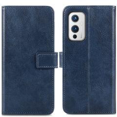iMoshion Custodia Portafoglio de Luxe OnePlus 9 - Blu scuro