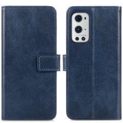 iMoshion Custodia Portafoglio de Luxe OnePlus 9 Pro - Blu scuro