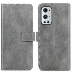 iMoshion Custodia Portafoglio de Luxe OnePlus 9 Pro - Grigio